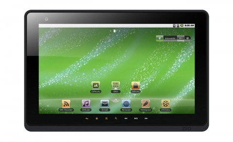 "Creative Ziio 10"" - Android-Tablet mit 10-Zoll-Touchscreen, HDMI-Ausgang, WLAN, Bluetooth und Webcam"