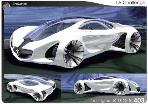 Daimlers Designstudie Biome (Bild: Daimler)