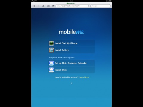 Änderungen bei Mobile Me