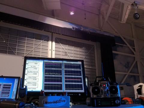 Der Aufbau beim Langzeitflug (Foto: Ascending Technologies)