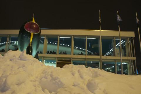 Rakete im Schnee: Dieses Jahr wird es...