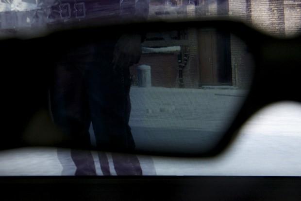 Deutlich sichtbares Ghosting (rechts vom Bein) auf dem Benq XL2410T