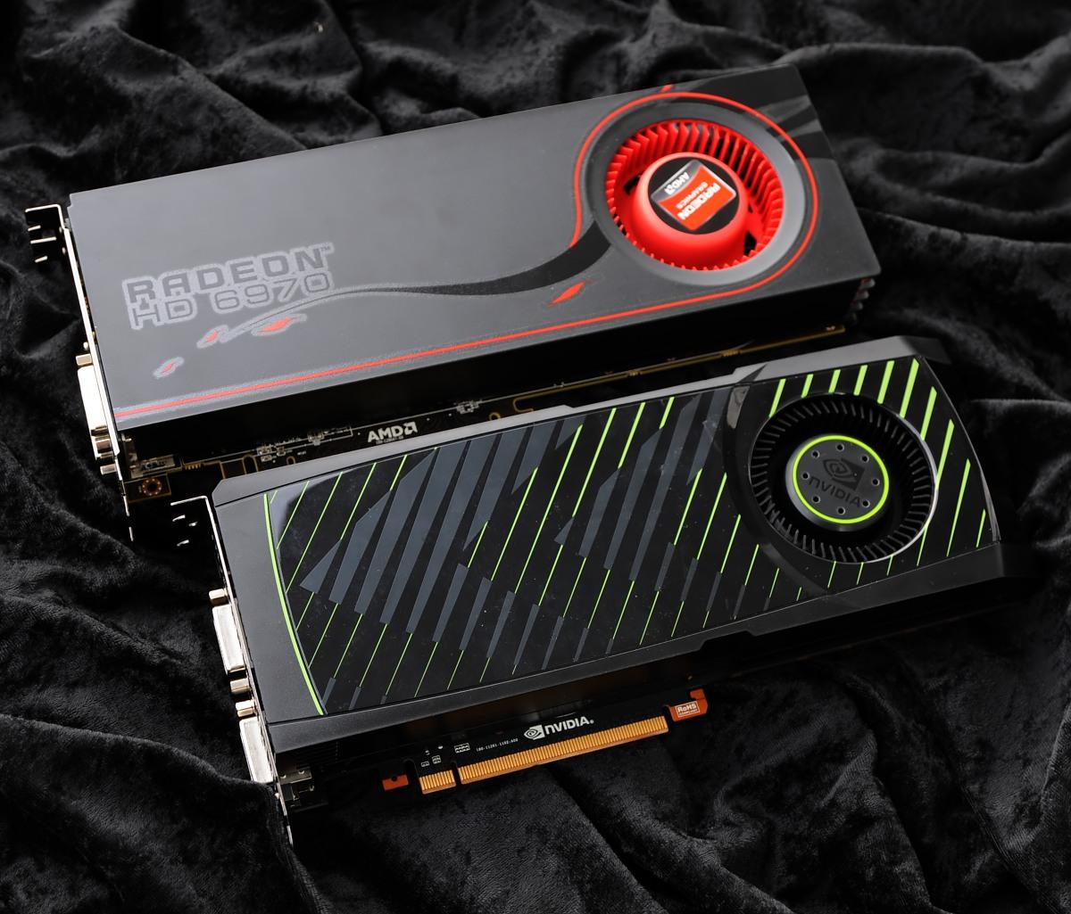 Radeon HD 6950 und 6970 im Test: AMDs schnellste GPU - knapp an der Spitze vorbei - Die Radeon 6970 kann die GTX 570 nicht immer schlagen.