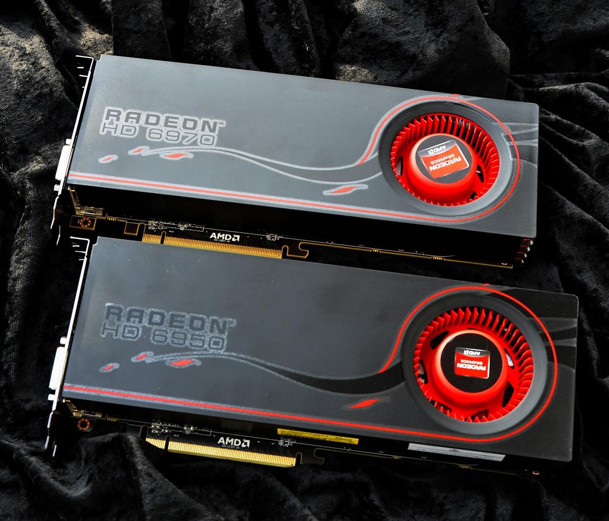 Radeon HD 6950 und 6970 im Test: AMDs schnellste GPU - knapp an der Spitze vorbei - Radeon HD 6970 und 6950