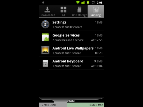 Bessere Stromsparfunktionen in Android 2.3