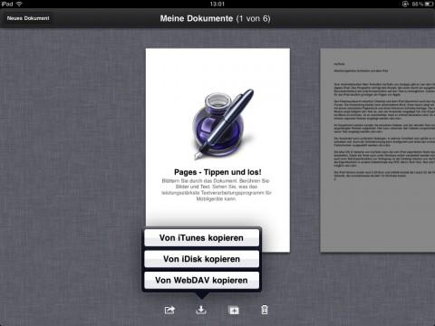 """iWork Pages """"von WebDAV kopieren"""""""