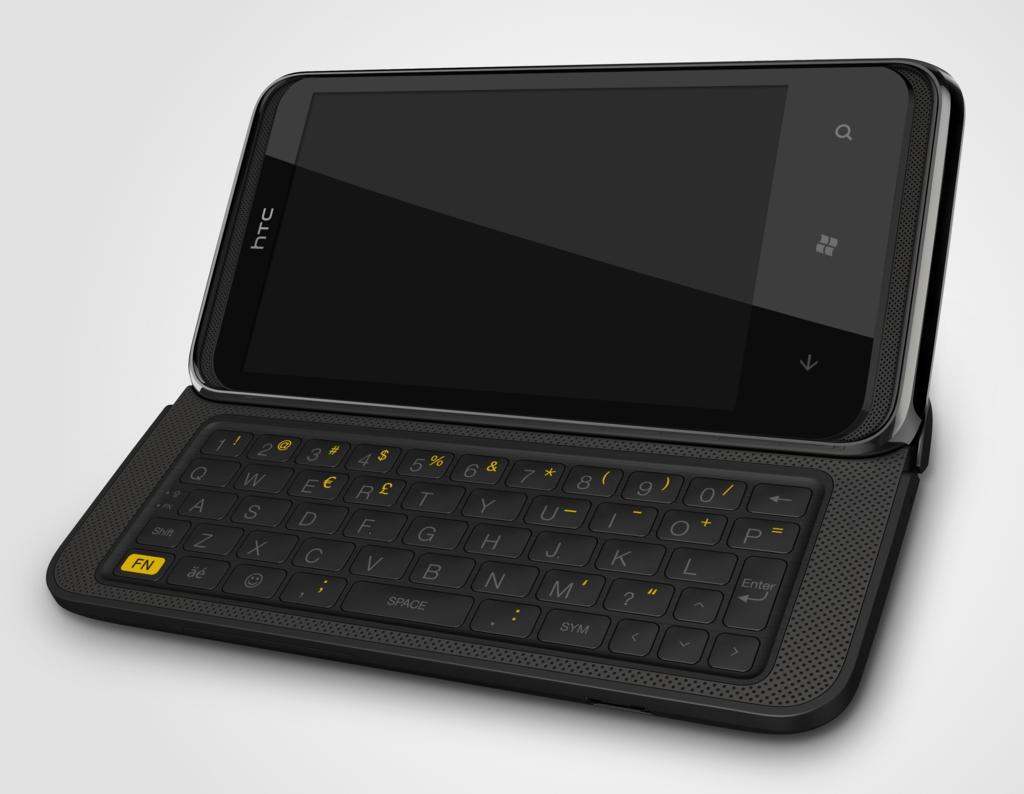 htc 7 pro smartphone mit windows phone 7 und qwertz. Black Bedroom Furniture Sets. Home Design Ideas