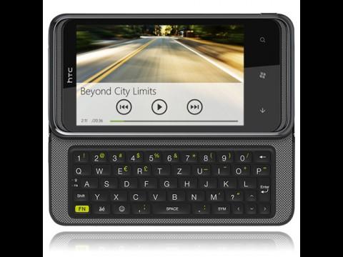 HTC 7 Pro mit QWERTZ-Tastatur