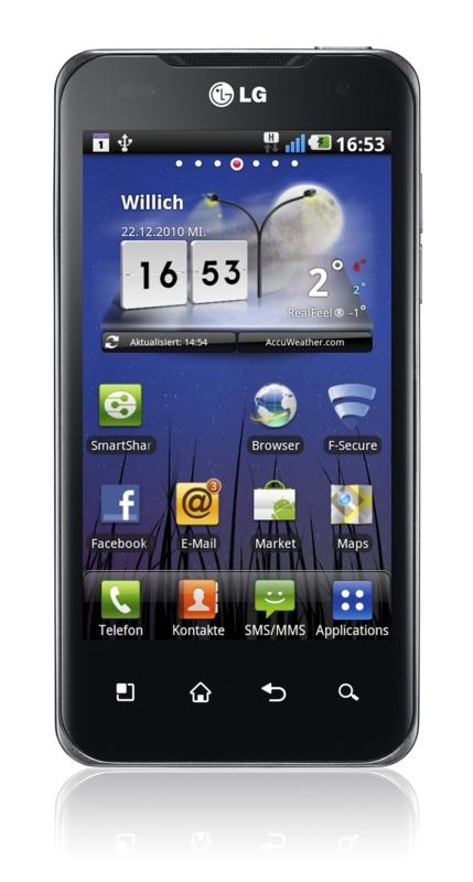 LG Optimus Speed: Amazon nennt Preis für Android-Smartphone mit Dual-Core-CPU - LG Optimus Speed