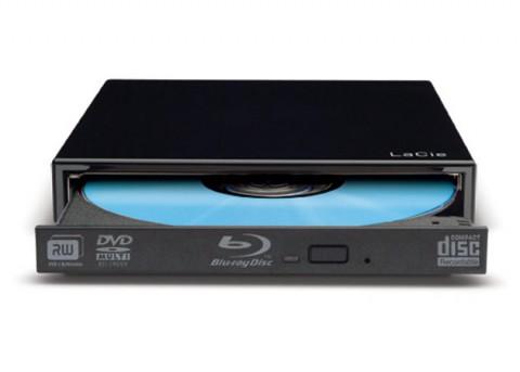 Das externe Blu-ray-Laufwerk...
