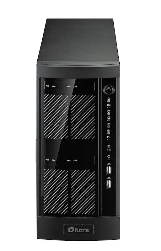 Plextor PX-NAS4: Tower-NAS für vier Festplatten - Plextor PX-NAS4