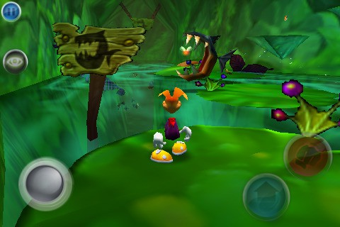 Rayman: The Great Escape (iPhone)