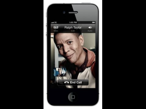 Skype 3.0 für iOS mit aktiver Videokonferenz