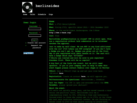 Berlinsides.org - die Beschreibung der Parallelveranstaltung zum 27C3