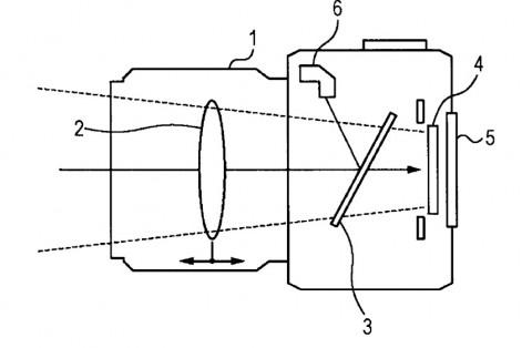Konstruktionszeichnung aus Sonys Patentantrag 20100310247