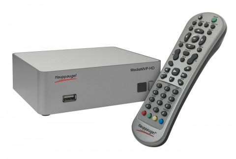 Netzwerk-Mediaplayer MediaMVP-HD (Bild: Hauppauge)