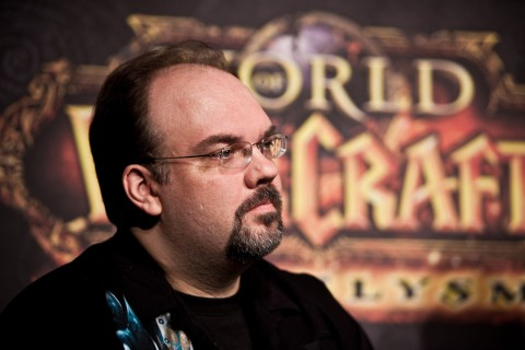 Blizzard-Mitarbeiter Scott Mercer, Lead Encounter Designer für World of Warcraft (Foto: Maximilian Knop)