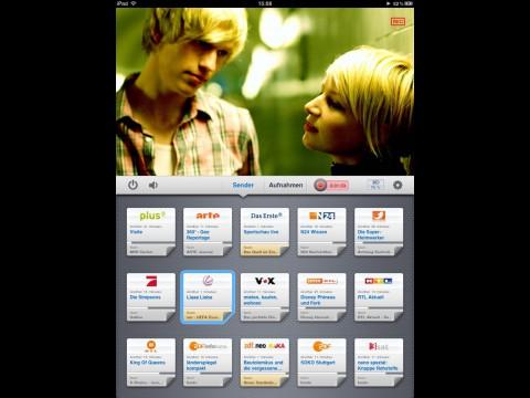 Mit Tizi Fernsehsendungen mit dem iPad oder iPhone aufnehmen (Bild: Equinux)