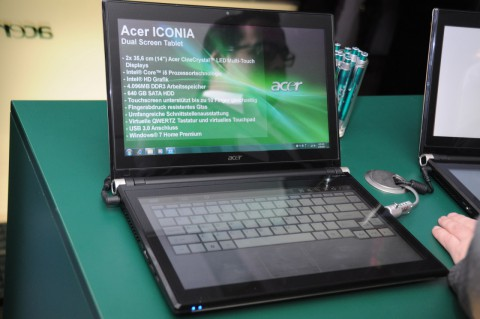 Acer Iconia Dual Screen Tablet