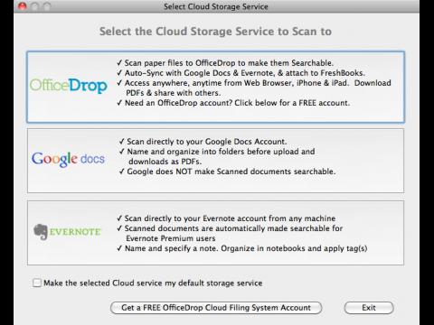 Cloud Capture - Konfiguration