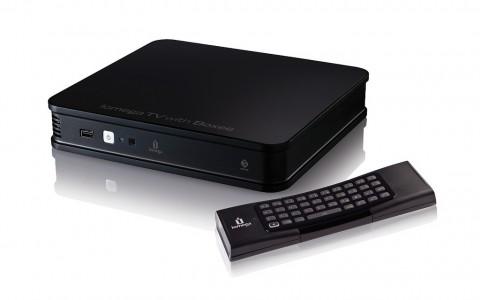 Iomega TV mit Boxee