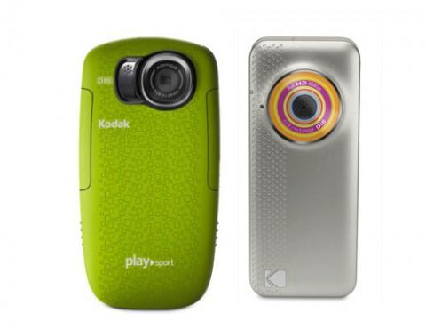 Kodak Playsport und Playfull (rechts)