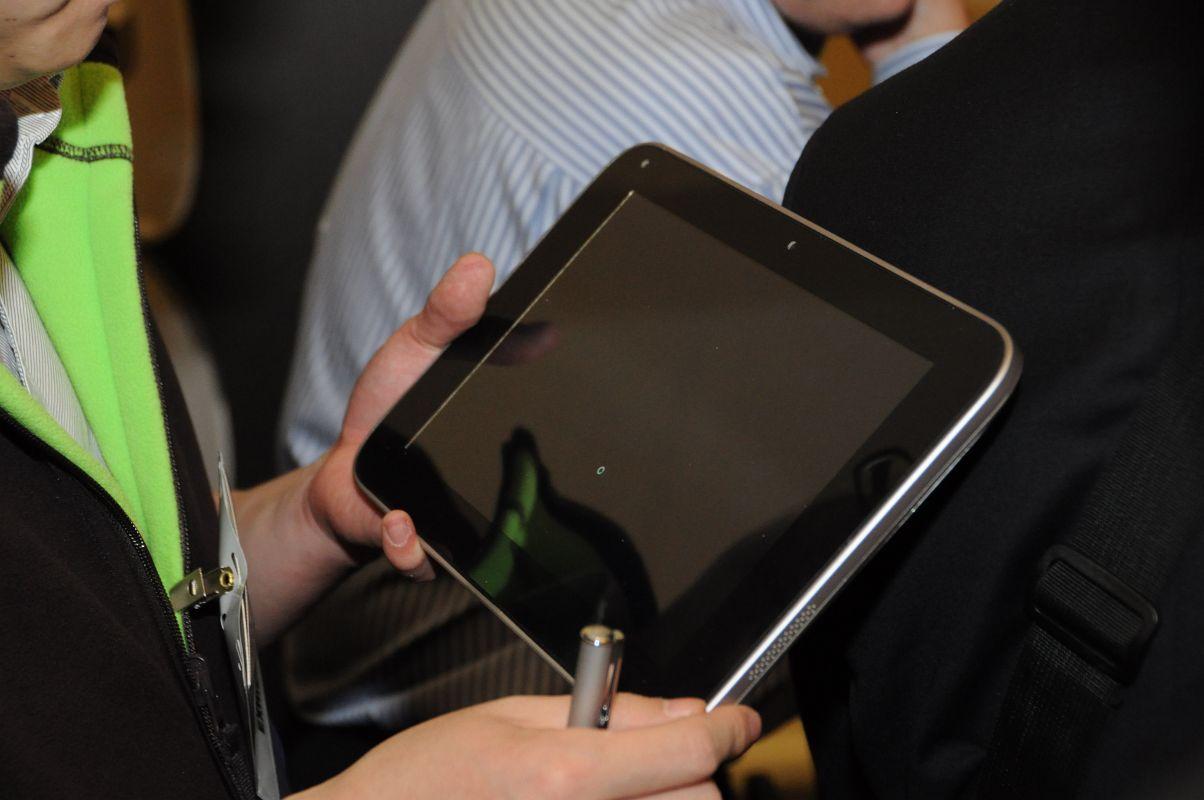 10-Zoll-Tablet: Lenovo zeigt Oak-Trail-Prototyp -