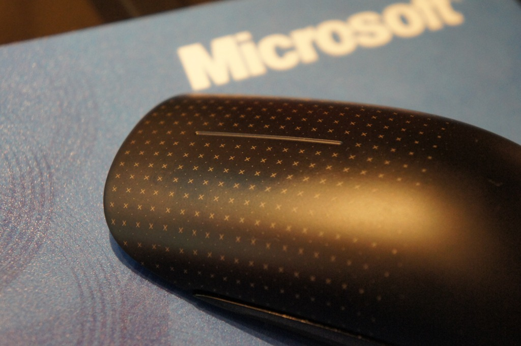 Touch Mouse: Multitouch-Maus von Microsoft - Microsoft Touch Mouse