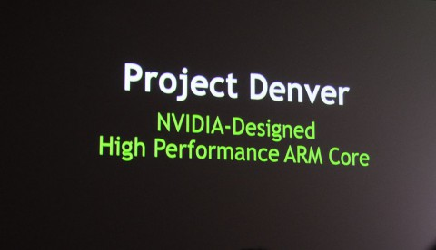 Nvidia kündigt Projekt Denver an.