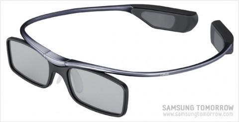 3D-Shutterbrille von Samsung und Silhouette