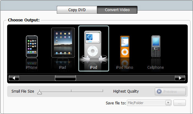 Roxio: 3D-Videobearbeitung mit Video Lab HD 3D - Roxio Video Lab HD 3D - Ausgabeoptionen