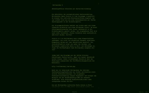 Writemonkey 2.0 - Benutzeroberfläche