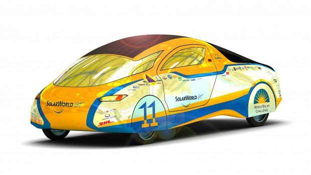Solarworld Gran Turismo, das fünfte Solarauto der Hochschule Bochum (Bild: HS Bochum)