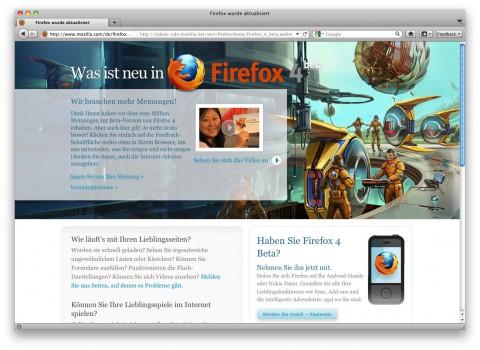 Firefox 4 Beta 10