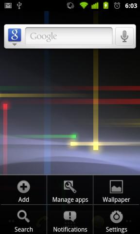 Neue Bedienoberfläche von Android 2.3