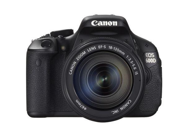 Dslr canon eos 600d mit klappdisplay for Housse canon eos 600d