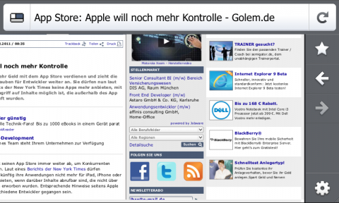 Firefox 4 Mobile Beta 4
