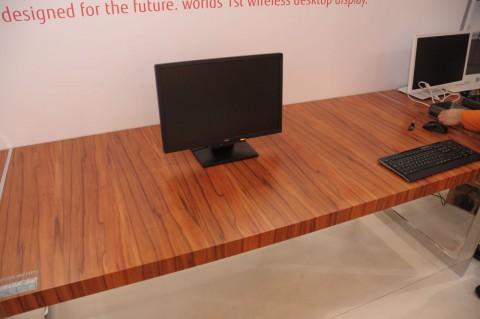 Fujitsus kabelloser Monitor