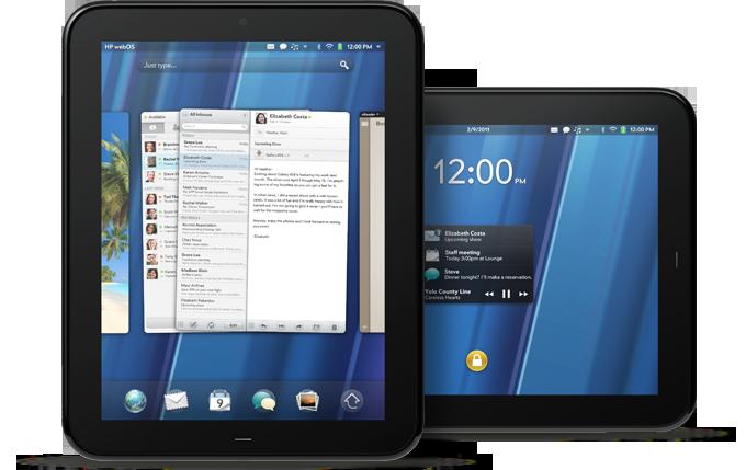 WebOS-Tablet: HPs 10-Zoll-Touchpad als Begleiter für den Palm Pre (Update) - HPs Touchpad ist ein Tablet mit 9,7-Zoll-Display.