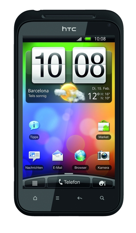 Android-Smartphones: HTC bringt Desire S, Wildfire S und Incredible S (Update) - HTC Incredible S