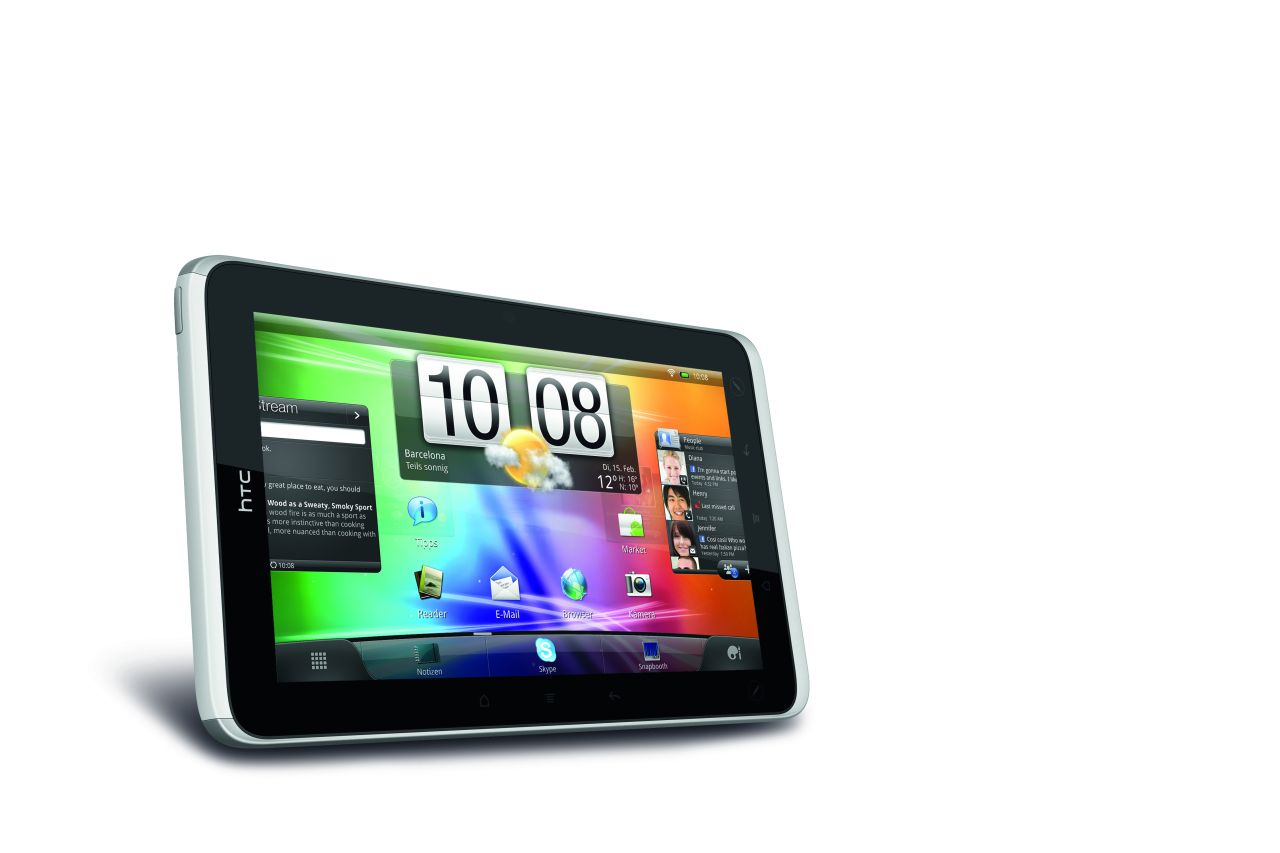 HTC Flyer: Unreal Tournament auf einem Android-Tablet (Update 3) - HTC Flyer