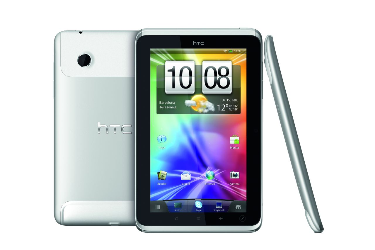 HTC Flyer: Unreal Tournament auf einem Android-Tablet (Update 3) - HTC Flyer
