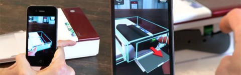 Metaios Augmented-Reality-Anwendung