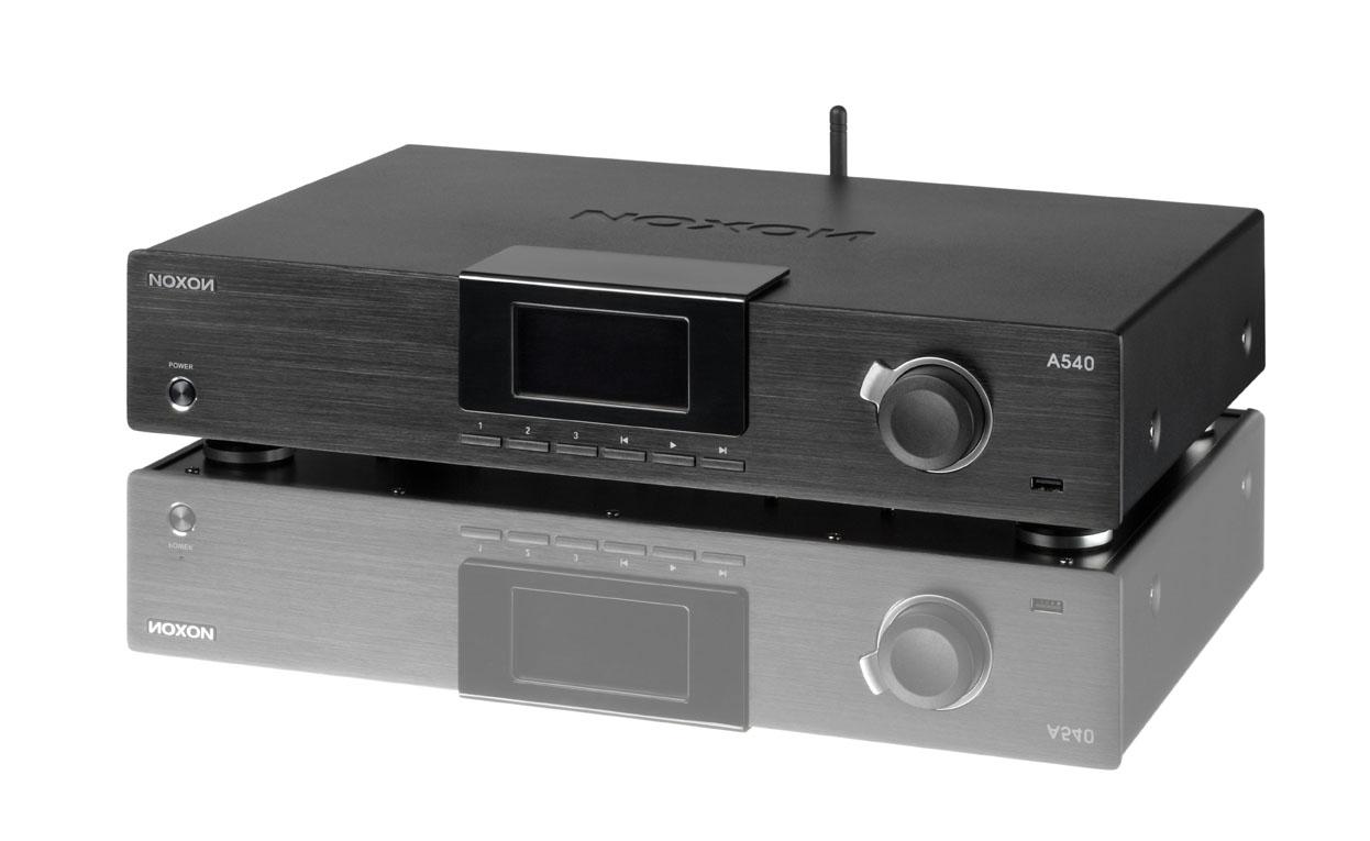 Internetradio: Noxon 540 als Hi-Fi-Baustein im Alugehäuse für 250 Euro - Drehregler mit Back-Taste