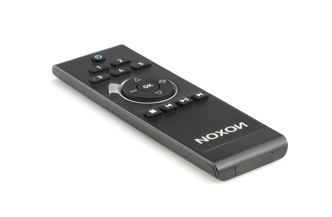 Internetradio: Noxon 540 als Hi-Fi-Baustein im Alugehäuse für 250 Euro - Neue Fernbedienung
