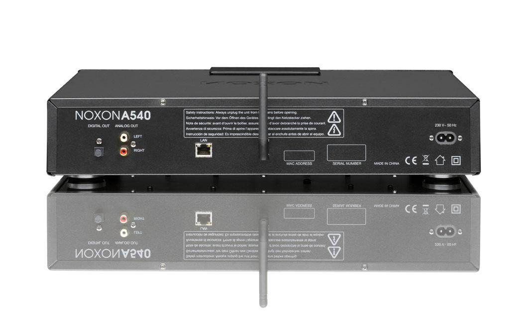 Internetradio: Noxon 540 als Hi-Fi-Baustein im Alugehäuse für 250 Euro -