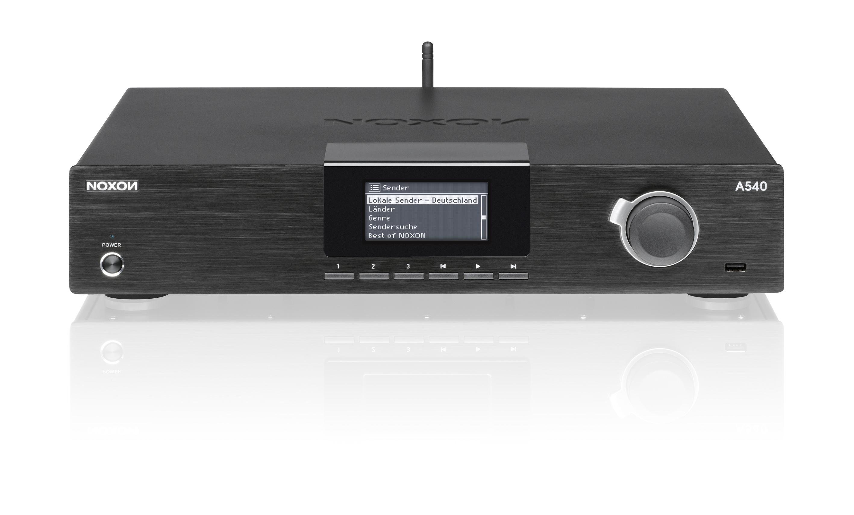 Internetradio: Noxon 540 als Hi-Fi-Baustein im Alugehäuse für 250 Euro - Terratec Noxon 540