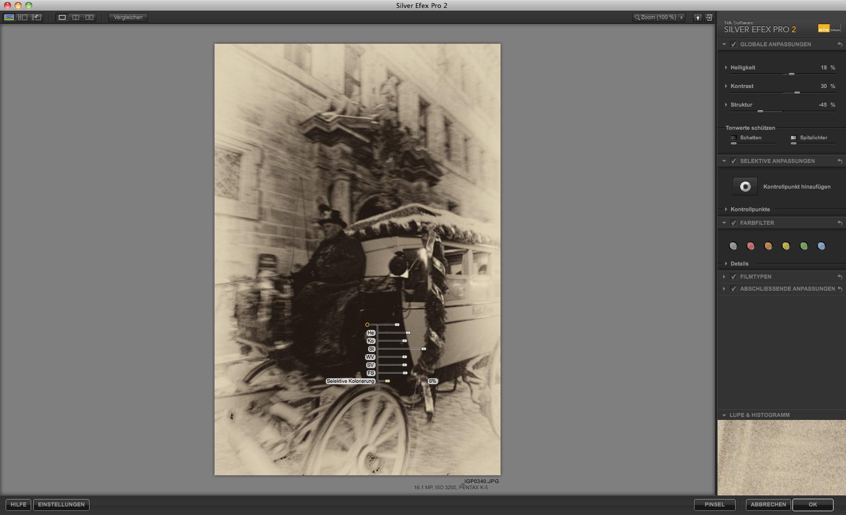 Nik Software: Bildbearbeitung für Schwarz-Weiß-Fotos - Silver Efex Pro 2 - Fotoplatte (Foto: Andreas Donath)