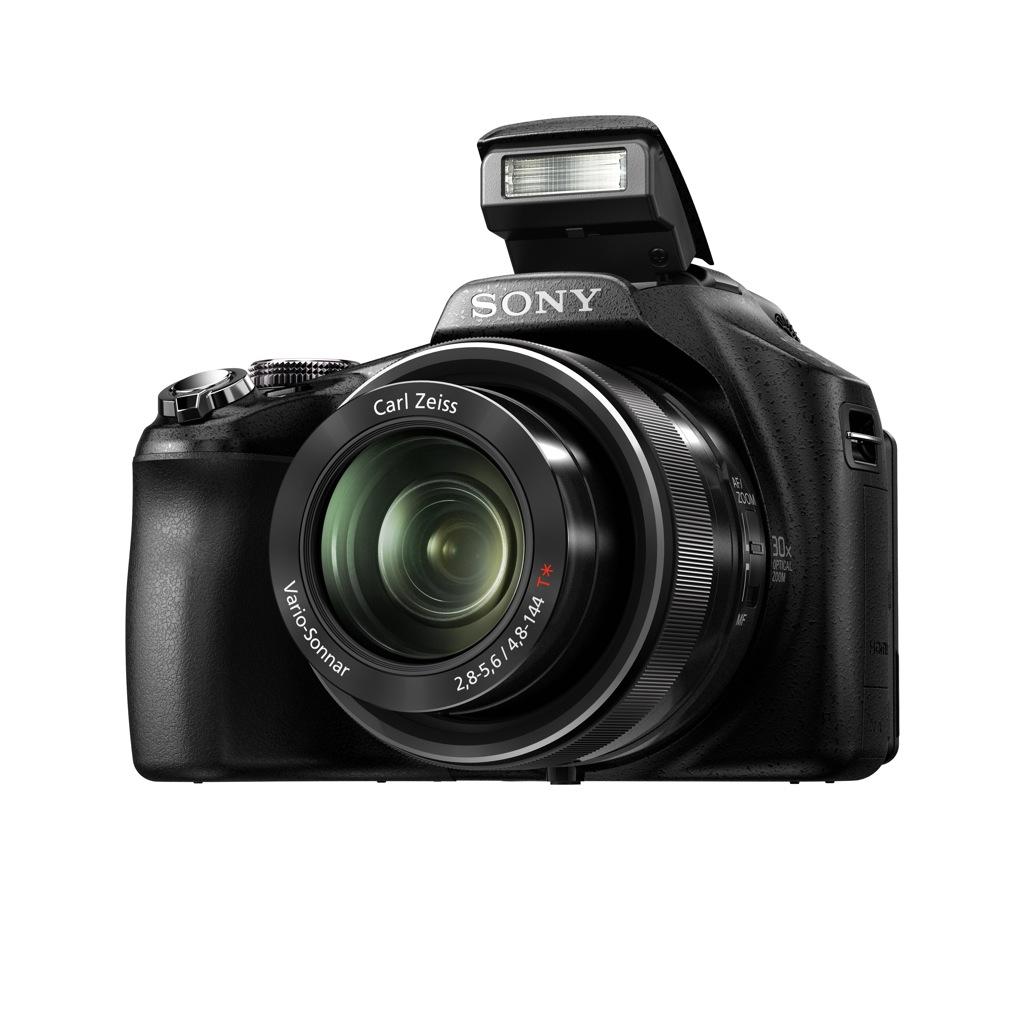 Sony: Digitalkamera und Camcorder ähneln sich immer mehr - Sony Cybershot DSC-HX100V