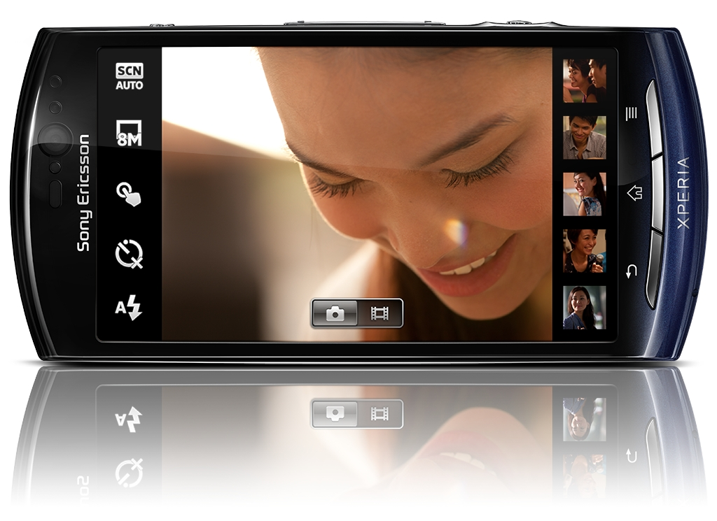 Sony Ericsson Xperia Neo und Pro: Smartphones mit Android 2.3 und 8,1-Megapixel-Kamera - Sony Ericsson Xperia Neo